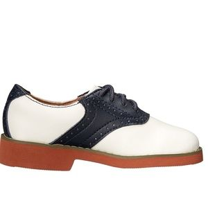 NWT JJ School Jumping Jacks Saddle Shoe 8.5W
